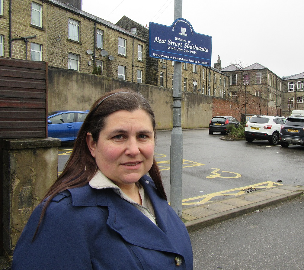 Councilor Turner opposing car park charges in Cleckheaton