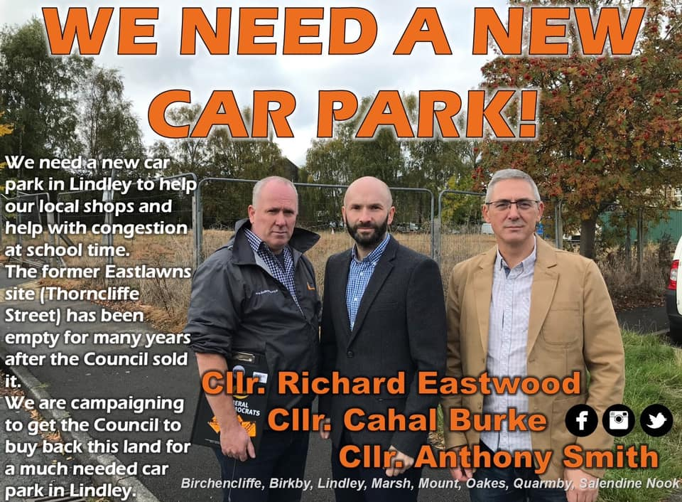 Lindley Car Park Petition