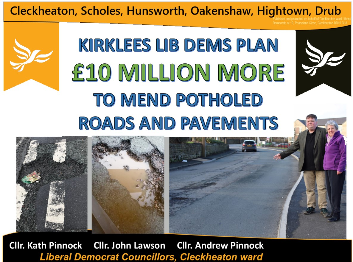 ACTION on POTHOLES - ROADS and PAVEMENTS