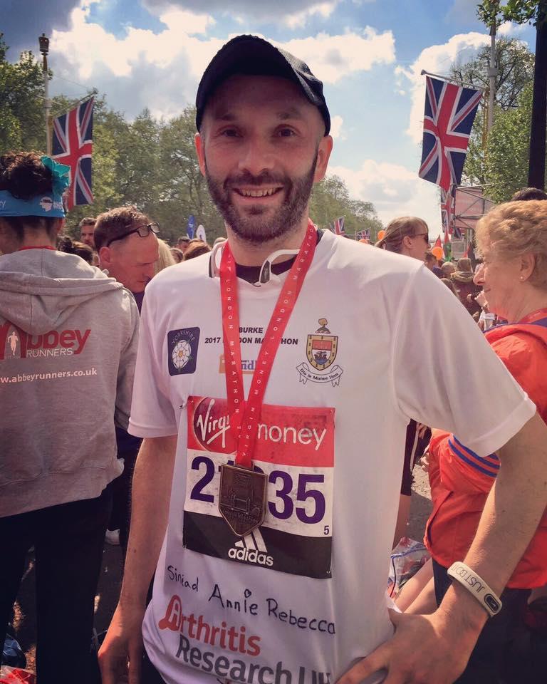Cahal Burke completes London Marathon