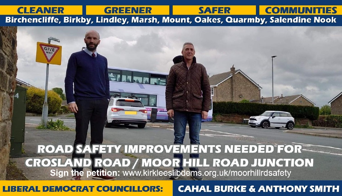 Moor Hill Road Safety Petition