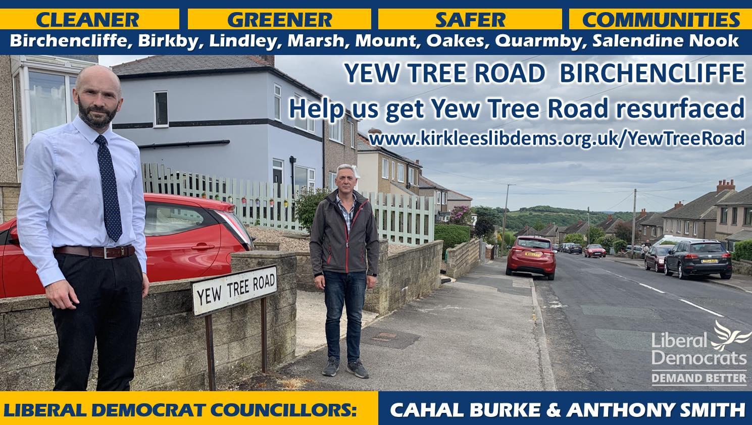 Yew Tree Road