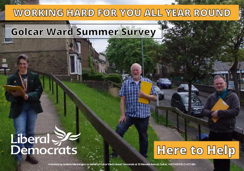 Golcar Summer Survey