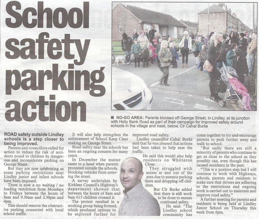 School Parking Examiner Clip