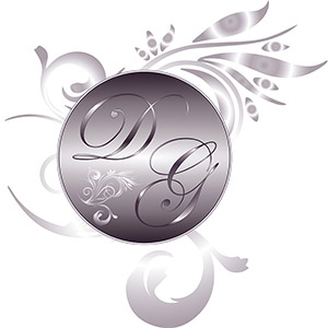 Logo Design for DG Weddings in Buffalo, NY. Created by Straub Creative Company at www.straubcreative.co