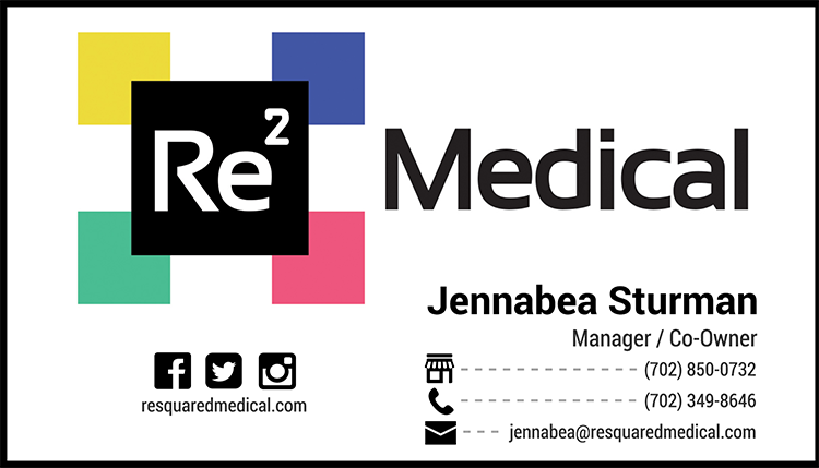 Logos at straub creative company business card design for resquared medical based out of las vegas nv reheart Images