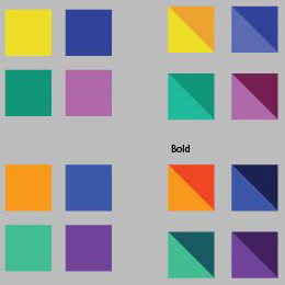Color Palette discovery in brand design. Read the case study at www.straubcreative.co