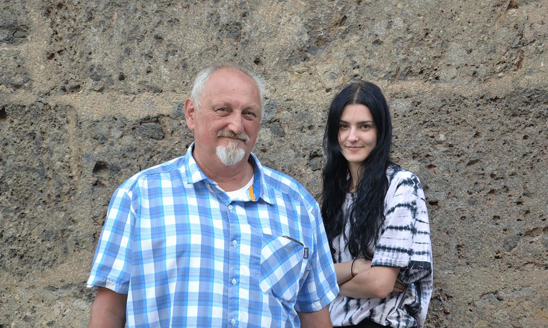 Josef Stingl und Janna Eberharter
