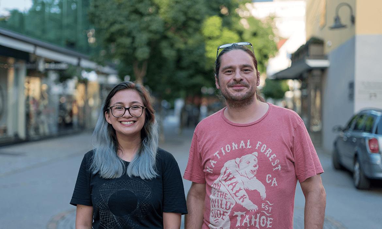 Andreas-Spechtenhauser und Tara Romanes