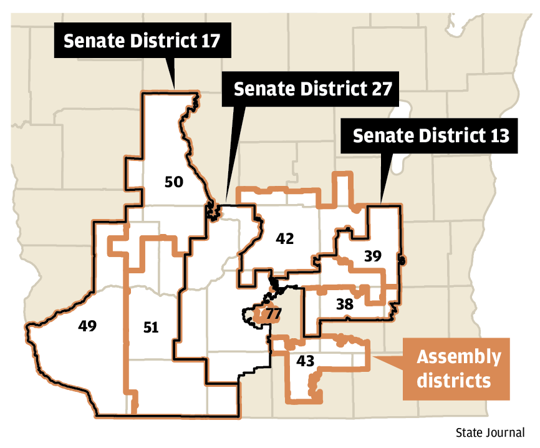Marion Wisconsin Map.Wisconsin State Journal Endorses Kriss Marion For State Senate