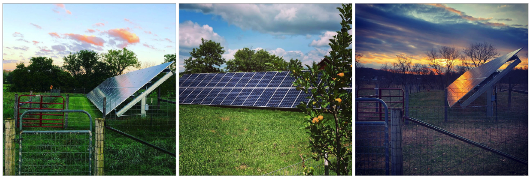 Photo of Solar Panels on a farm