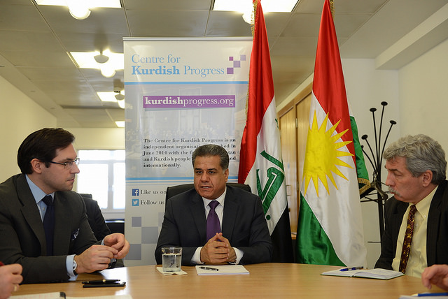 Kurdish Progress Roundtable with with Mr Falah Mustafa Bakir