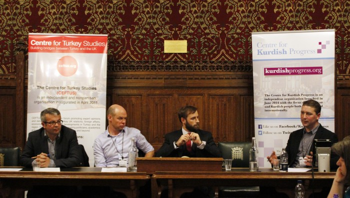 Public Forum 'The Syrian War's Impact on Kurdish Politics'