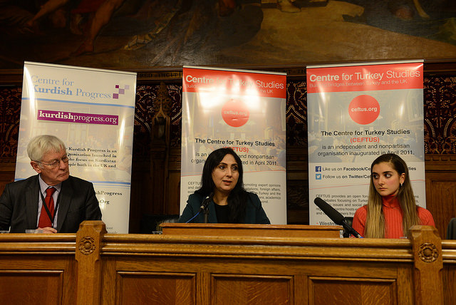 RWCA, CEFTUS and Kurdish Progress Public Forum with HDP Co-Chair Figen Yuksekdag