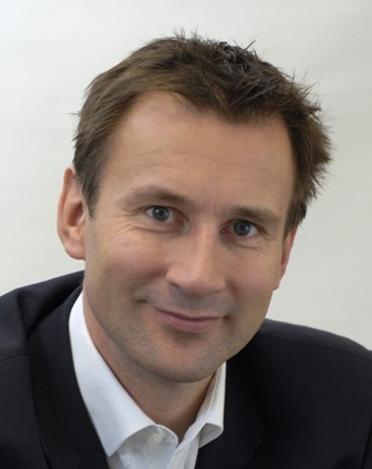 Rt Hon Jeremy Hunt Conservative MP for South West Surrey, Secretary of State for Health