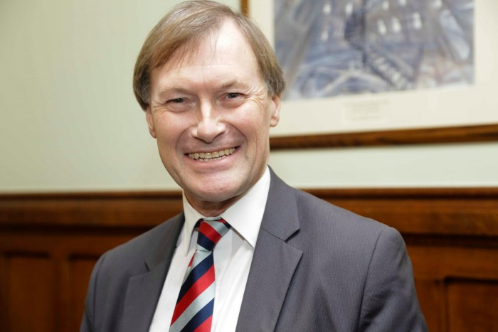 Sir David Amess Conservative MP for Southend West