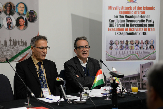 LABOUR CONFERENCE: Recent Missile Strikes and Iran's Growing Military Campaign Against the Kurds