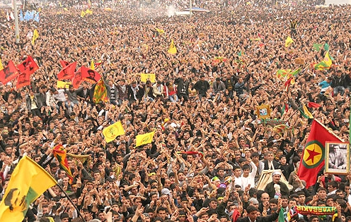 Newroz celebration in Hakkari 2012