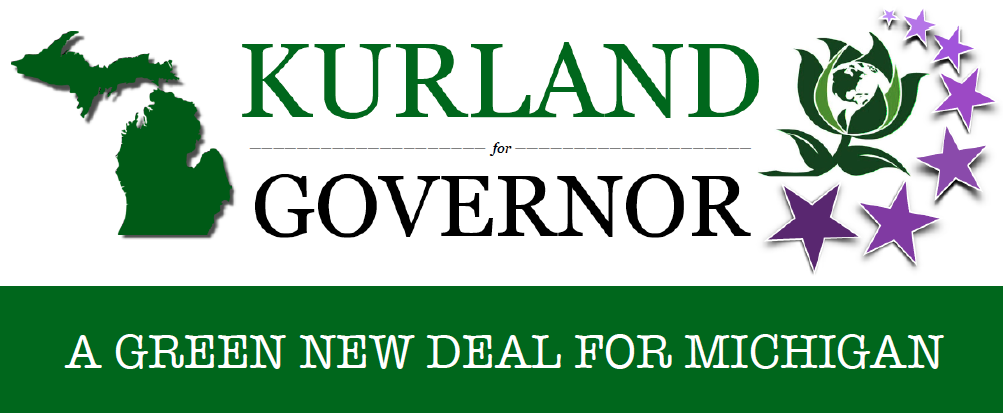 Jennifer V Kurland for Governor of Michigan