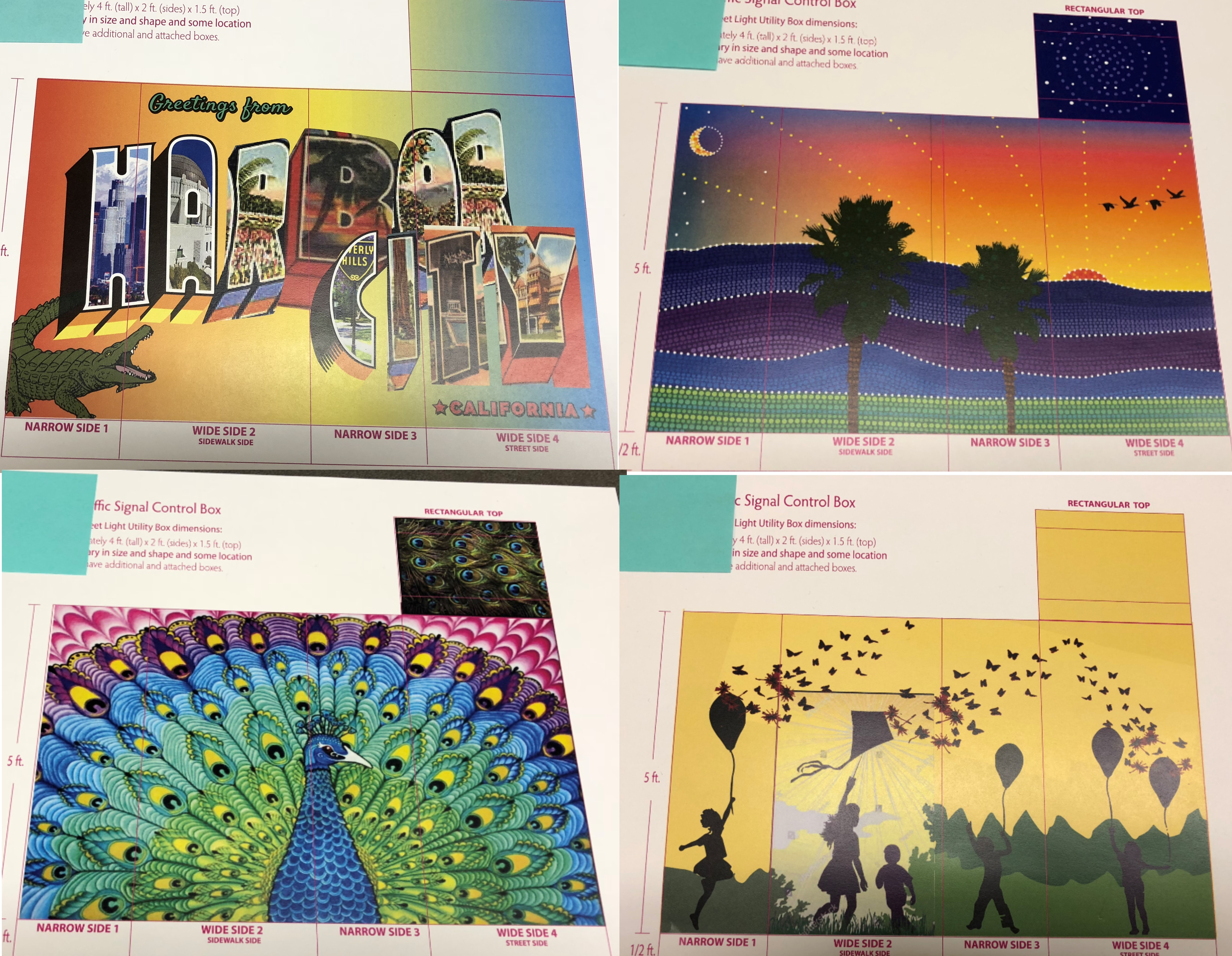 Art Coming To Harbor City Utility Boxes Harbor City