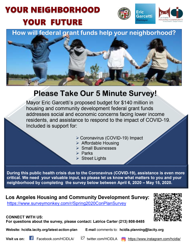 HCIDLA Survey