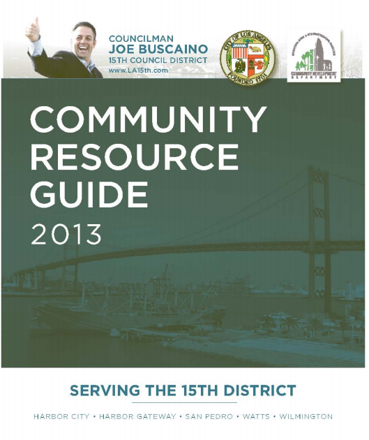 city resource guide front cover