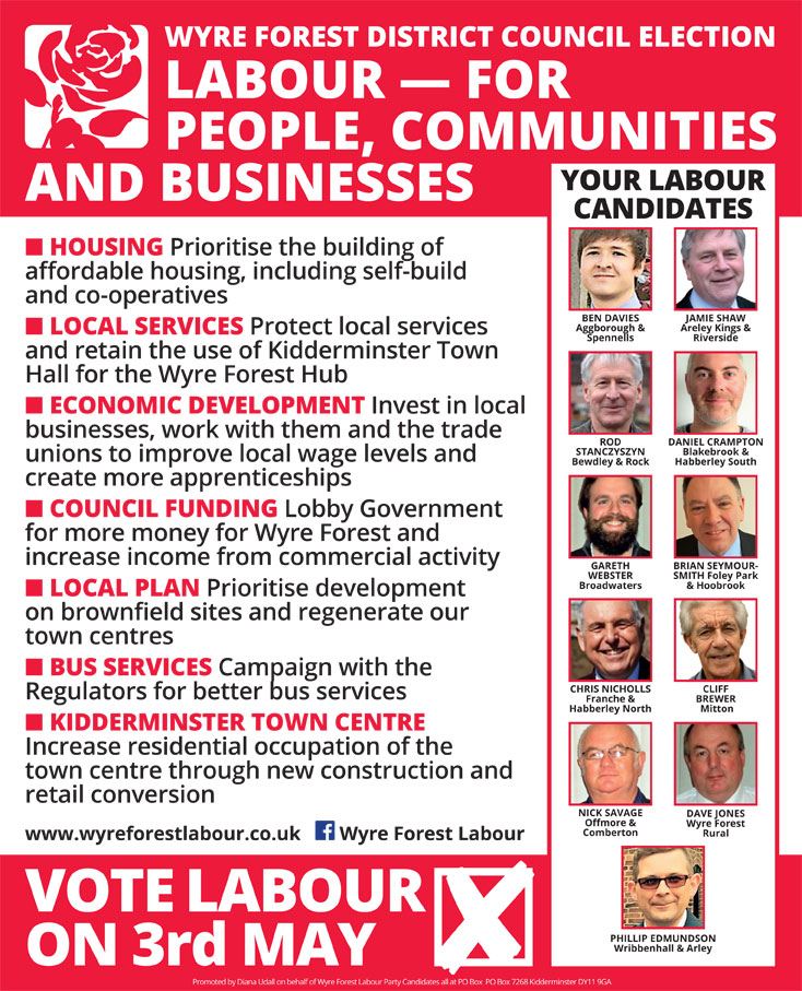 Wyre Forest Labour 2018
