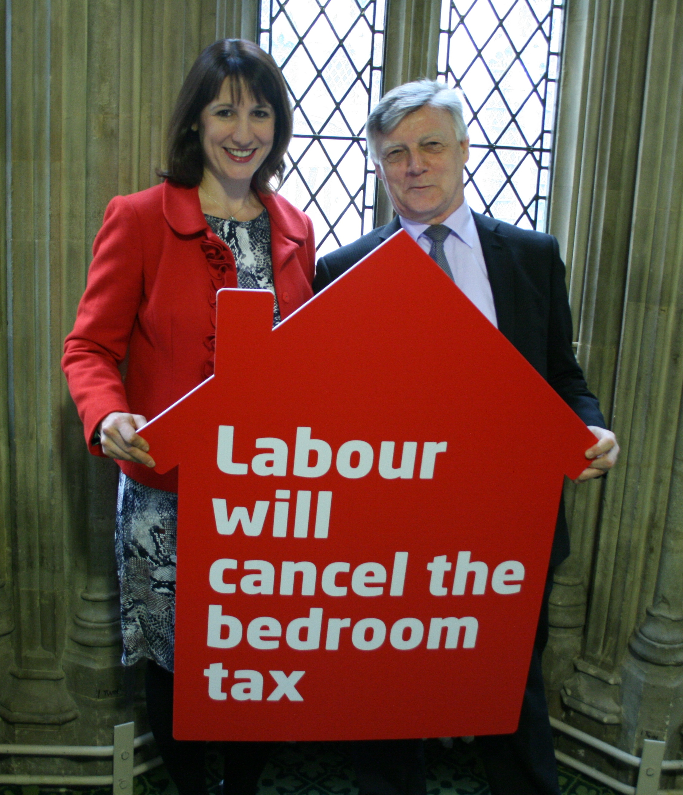 Steve_McCabe_MP_and_Rachel_Reeves_MP_pledge_to_scrap_Bedroom_Tax.JPG