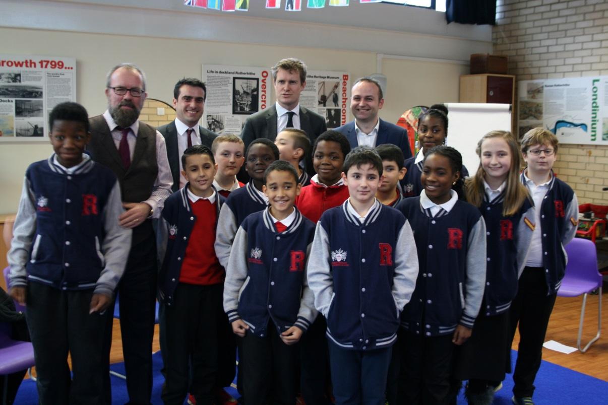 Labour's Schools Boss visits Southwark schools - Bermondsey & Old ...