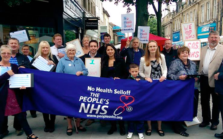 People's NHS in Lancaster