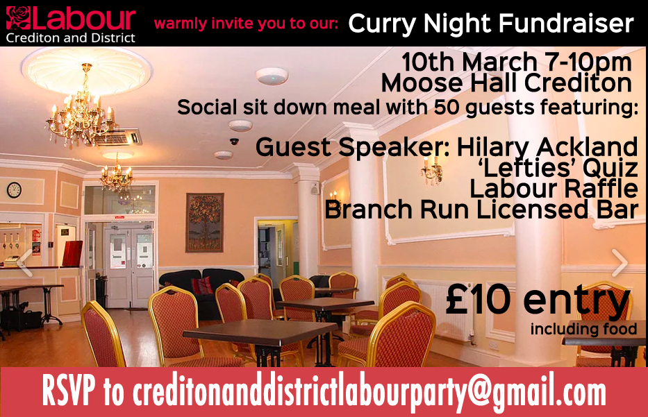 Flyer Curry Night