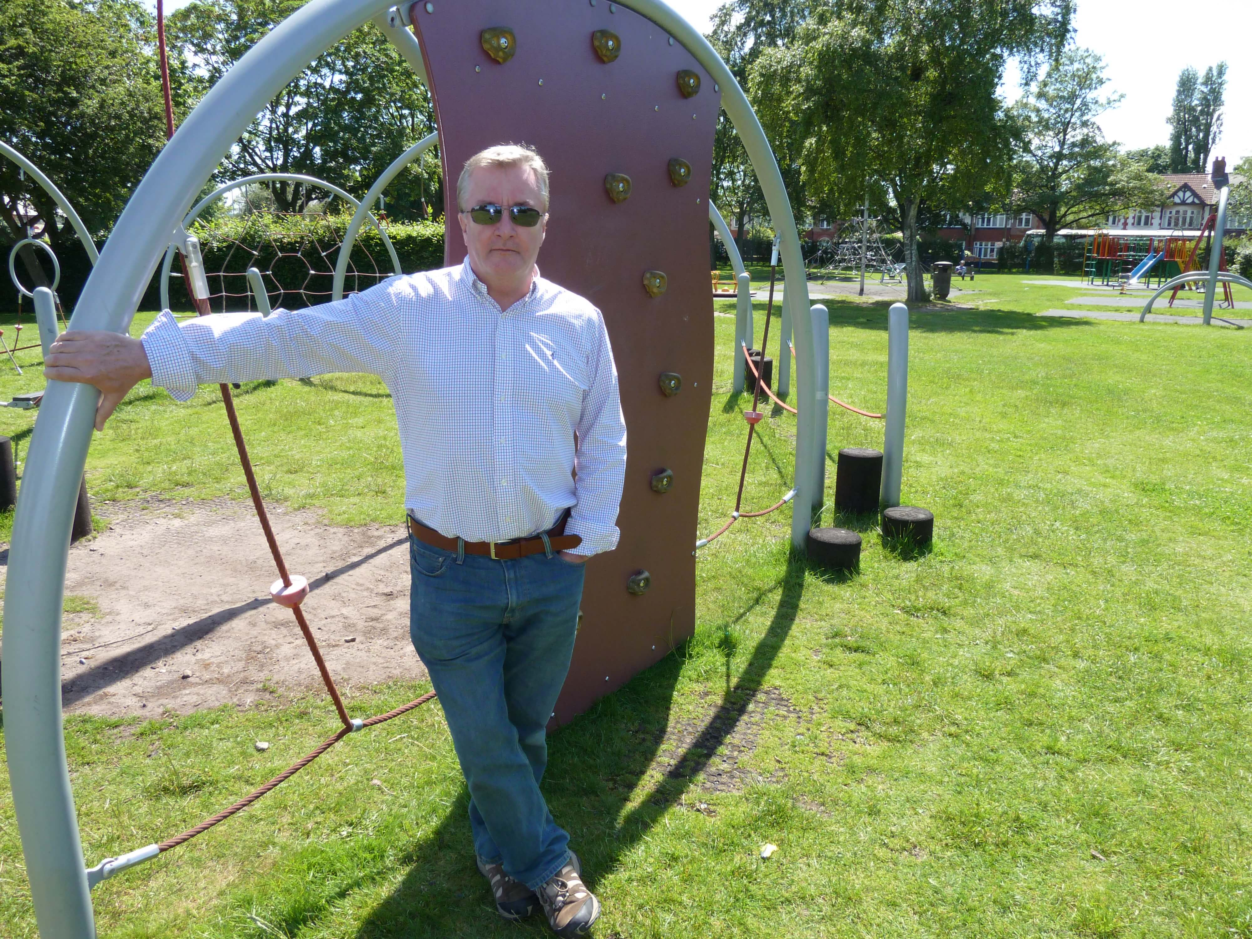 Sudell Ward Labour councillor and Maghull Town Council Labour leader Cllr Patrick McKinley has announced a major project to renew play equipment in the town's parks.