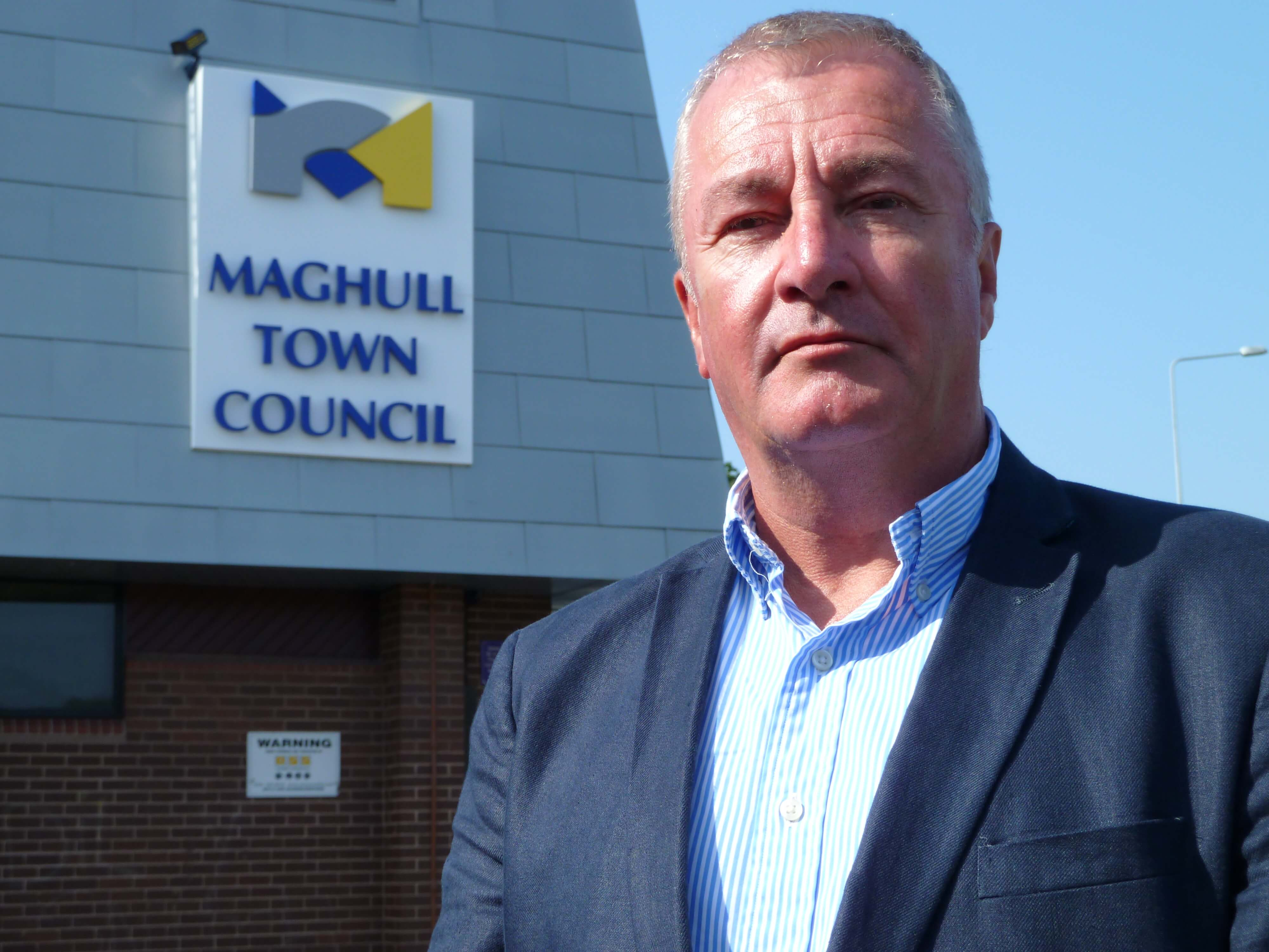 Sudell Ward Labour councillor and Maghull Town Council Labour leader Cllr Patrick McKinley.