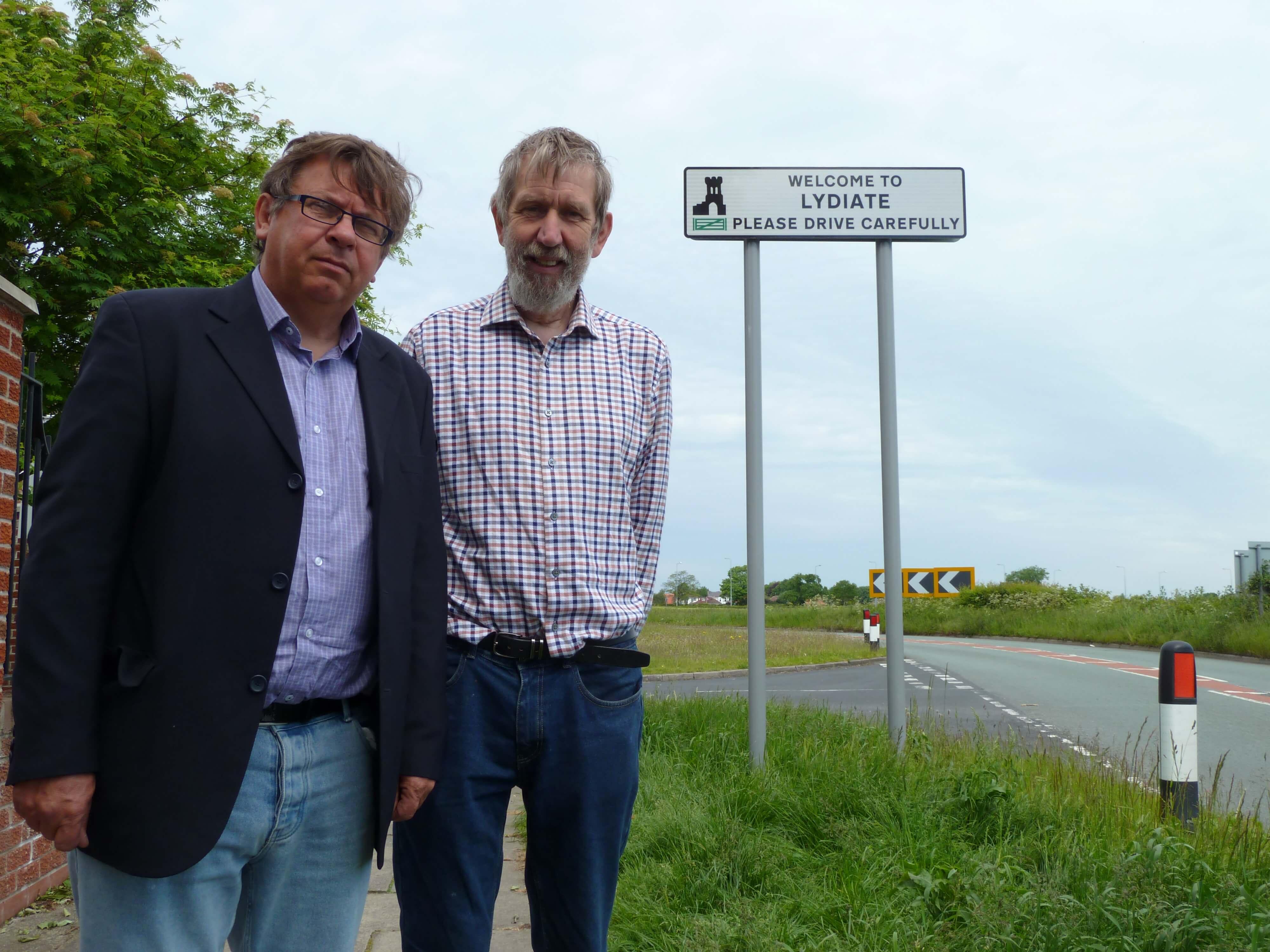 Andy Wilson and John Bailey