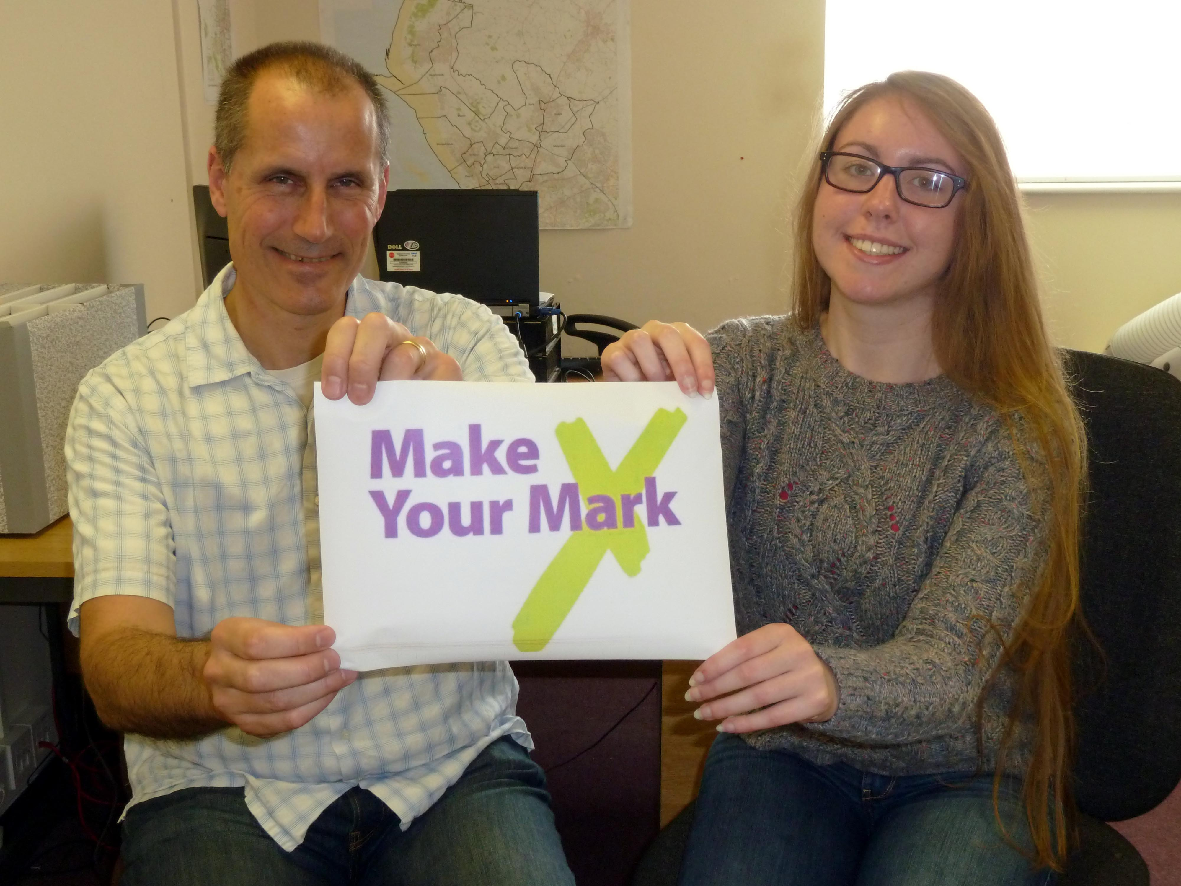 Sefton MYP Laura Curran has gained the backing of Sefton Central Labour MP Bill Esterson for the Make Your Mark campaign.