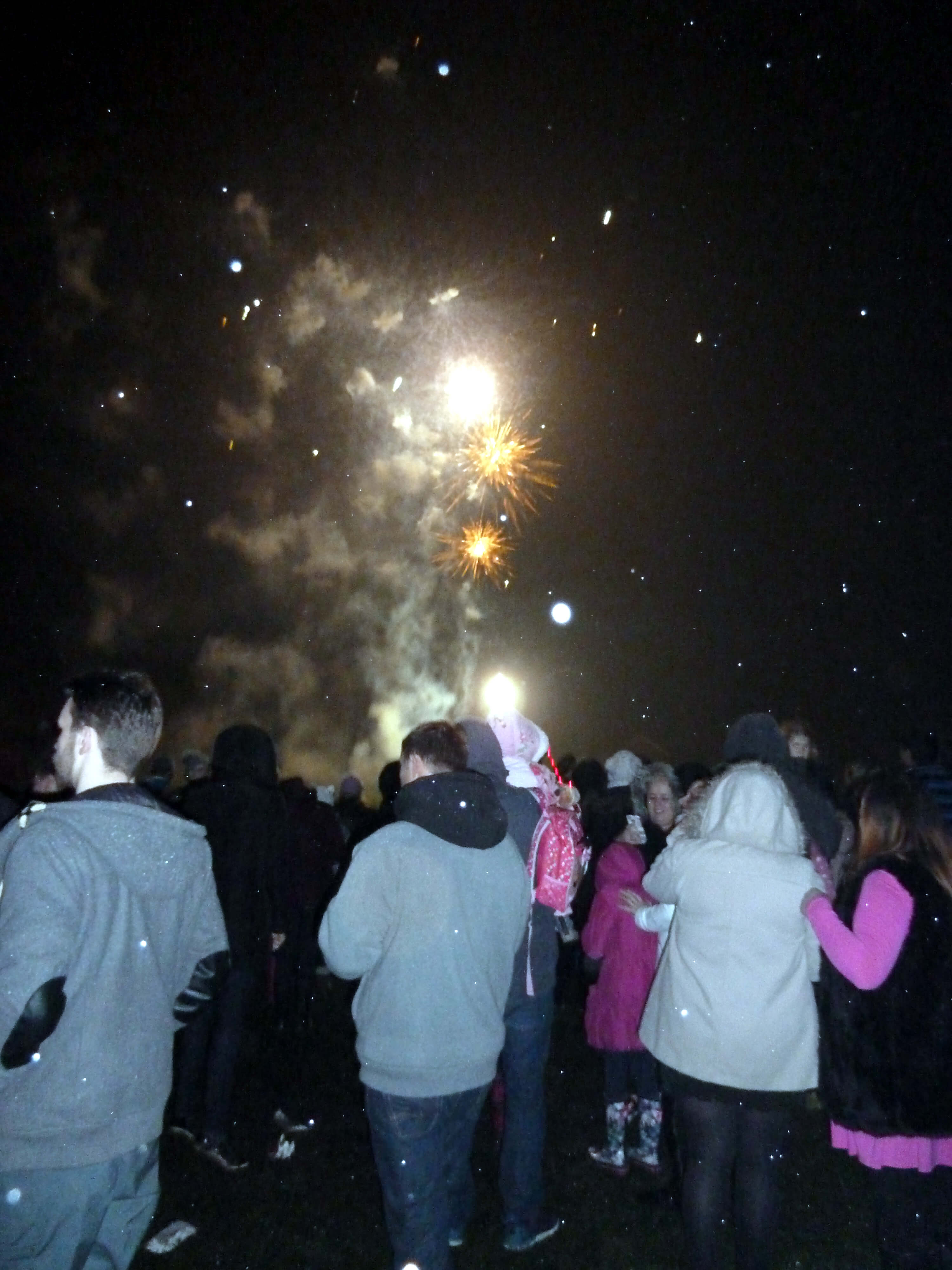 More than 5,000 people enjoyed the spectacular firework display at Whinneyborook Playing Field.