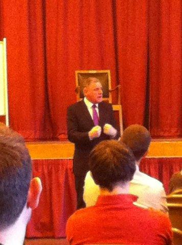 carlton speaking