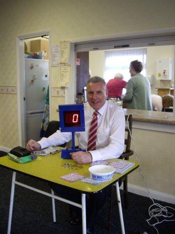bingo calling at ruchcliffe av