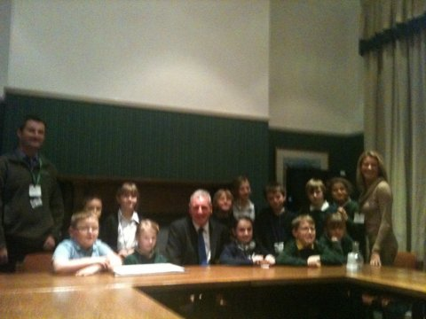 St John's Parliament Visit