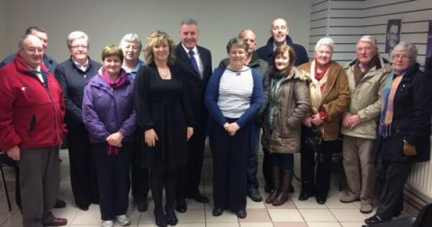 Victims group in Rathfriland