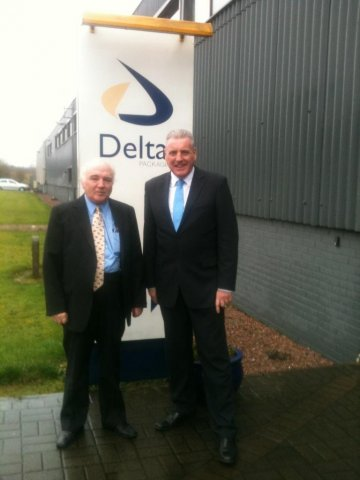 Delta print and packaging