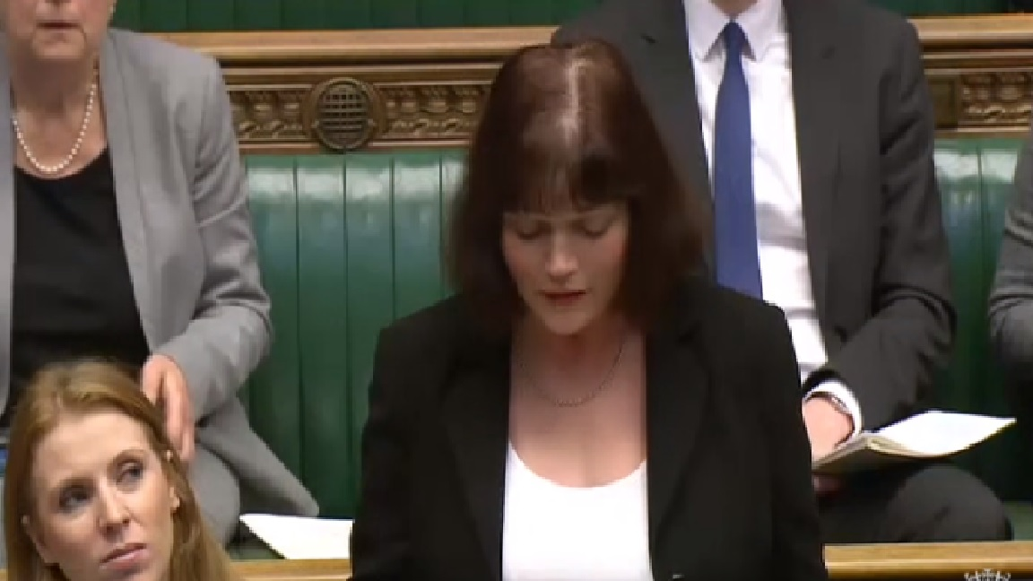 Julie Cooper MP speaking in Foreign Office Questions