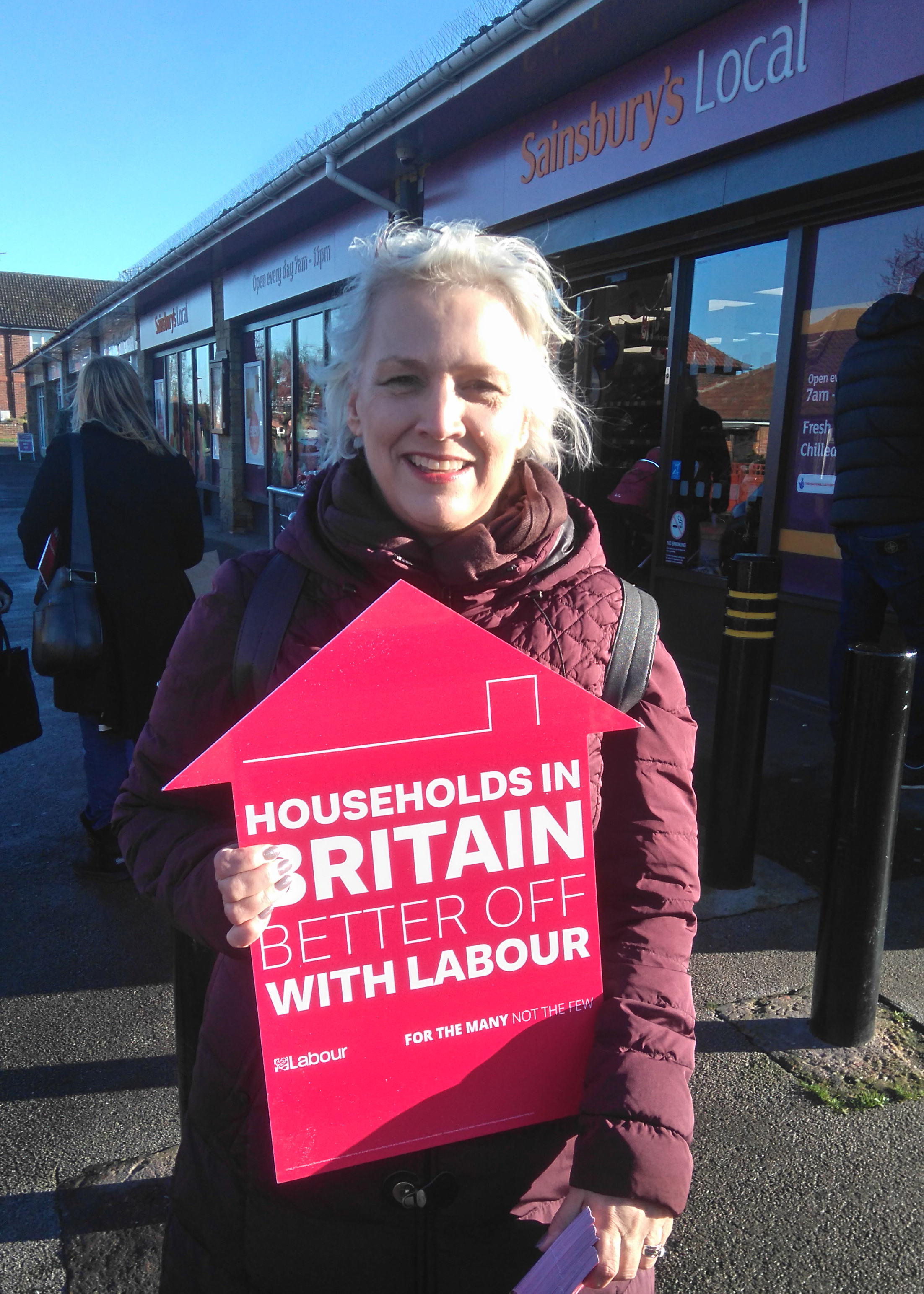 Fiona Derbyshire, Labour's parliamentary candidate for York Outer