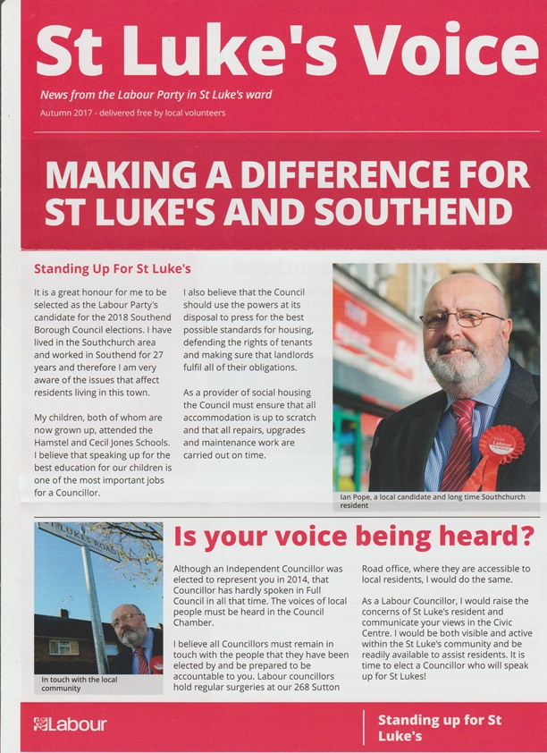 St. Luke's Voice Autumn 2017 p1