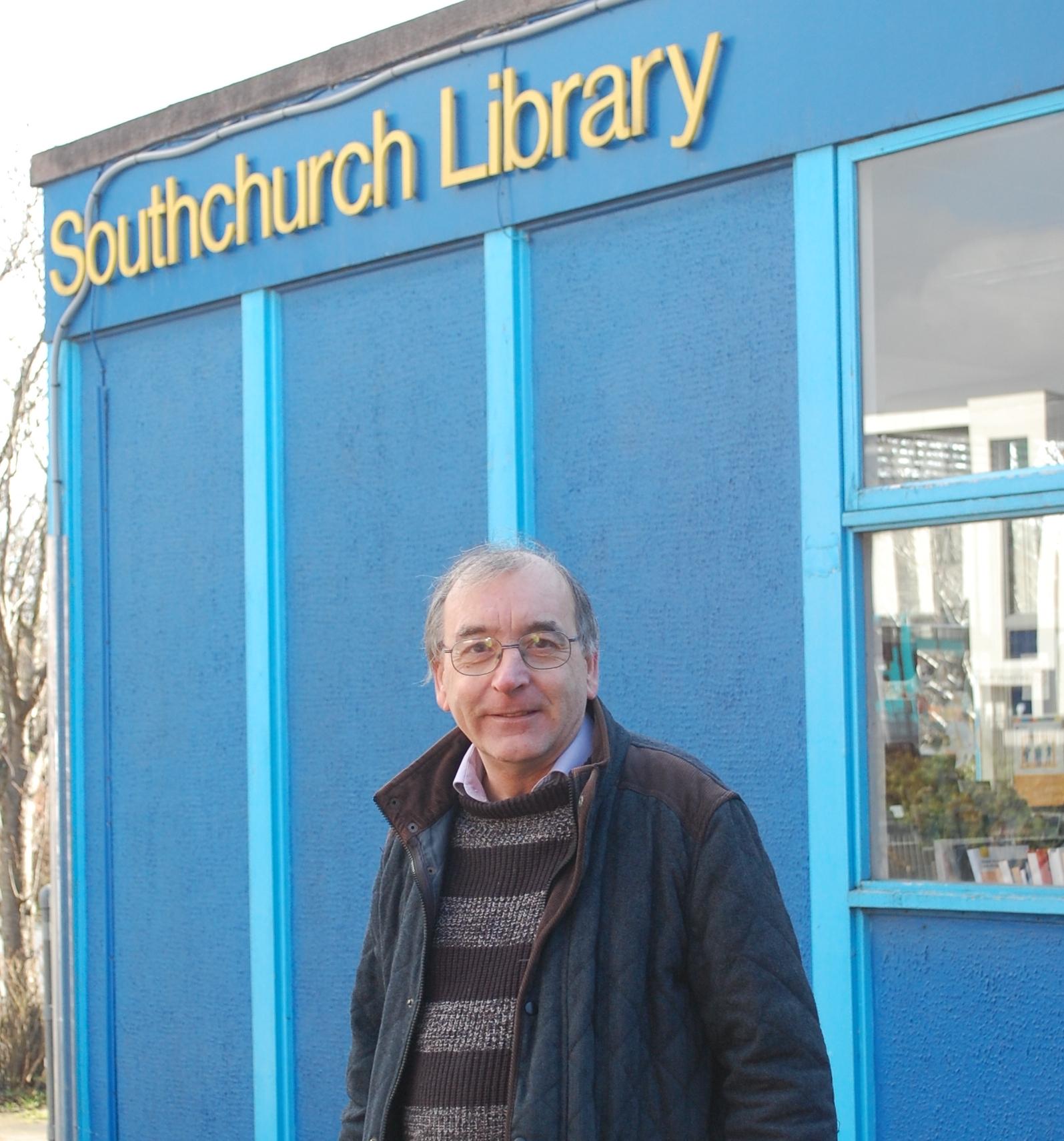 Martin at Southchurch Library