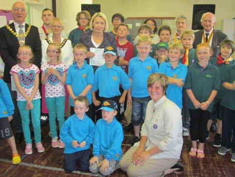 BK Scouts awards