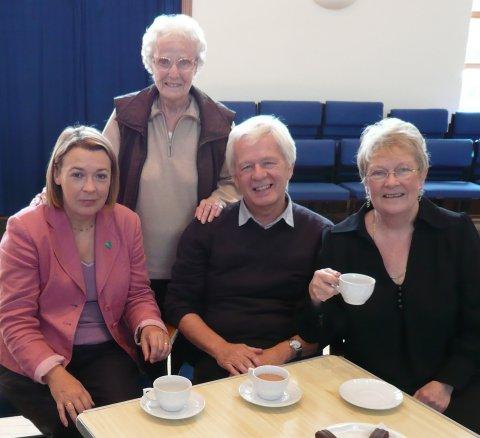 BK Macmillan coffee morning