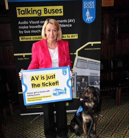 Talking buses campaign