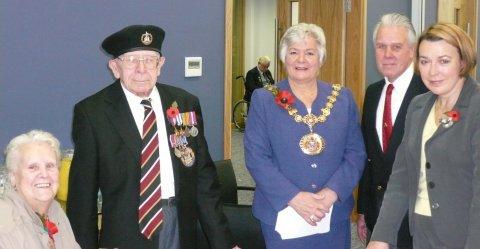 BK veterans badge family