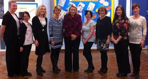 BK and teaching assistants